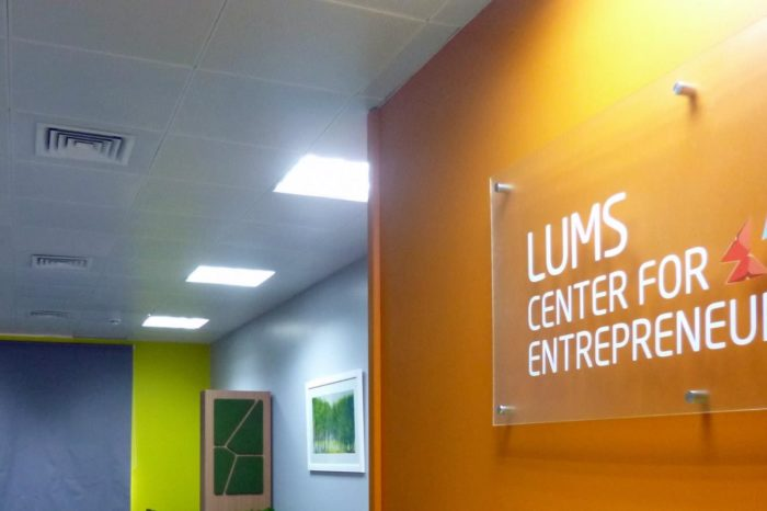 LUMS Center for Entrepreneurship Opens Applications for 6th Batch