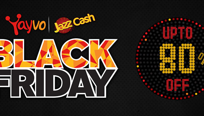 Yayvo & JazzCash Offer Mind Blasting Black Friday Deals in Pakistan