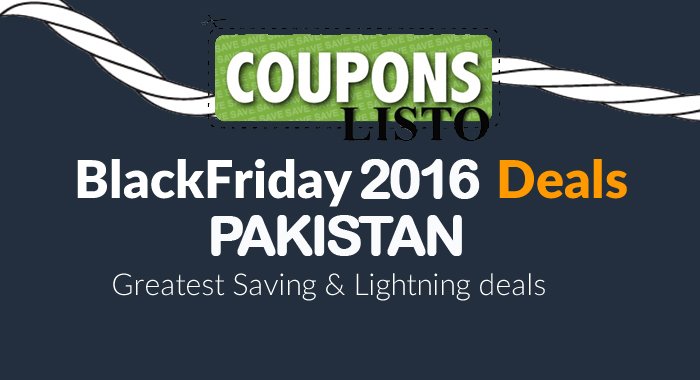 Pakistan Black Friday Deals 2016