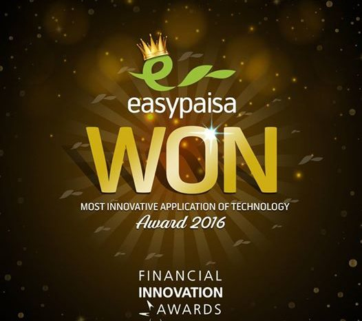 Telenor's EasyPaisa Wins Financial Innovation Award 2016