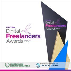 KPITBs Digital Freelancers Awards 2016-2017