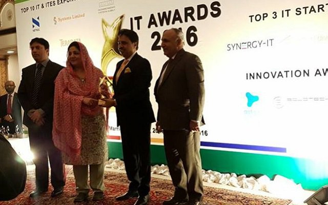 Netsol Technologies Wins Platinum Award at IT Exporter Awards 2016