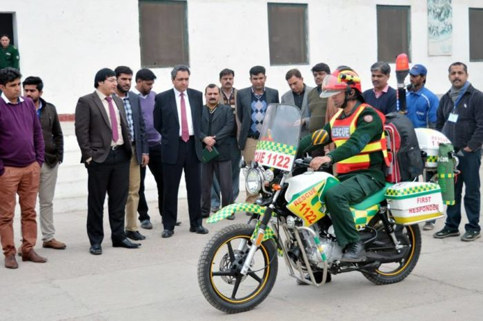 Rescue 1122: Motorbike Ambulance Service to Launch in 9 Cities of Punjab