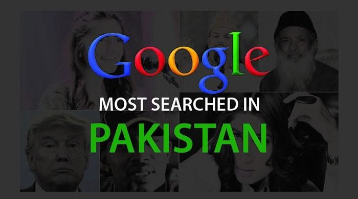 Top Ten Search Trends on Google For Pakistan in Year 2016