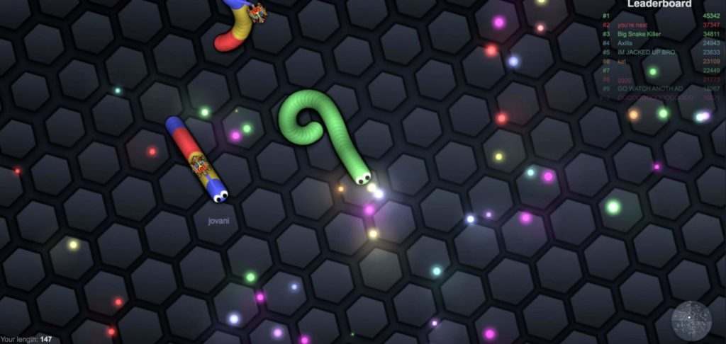 Slither.io Game Tips