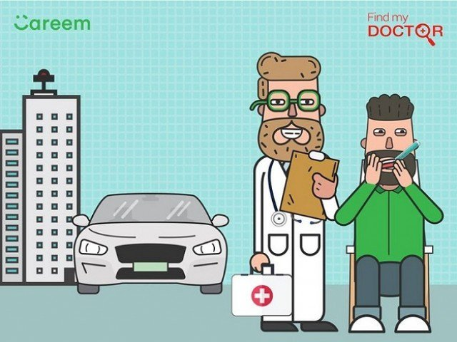 Careem Find my Doctor
