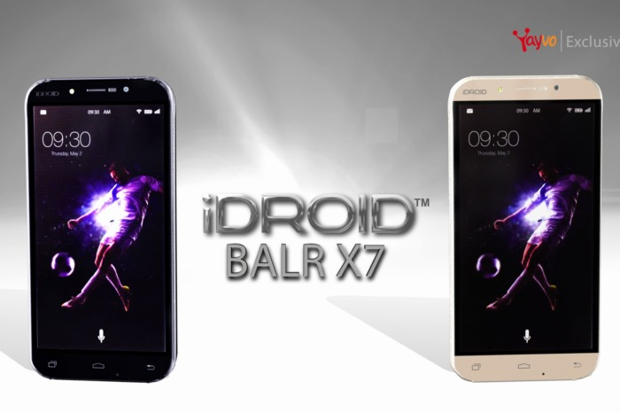 iDroid Balr x7 Smartphone - The Latest Buzz in Pakistan