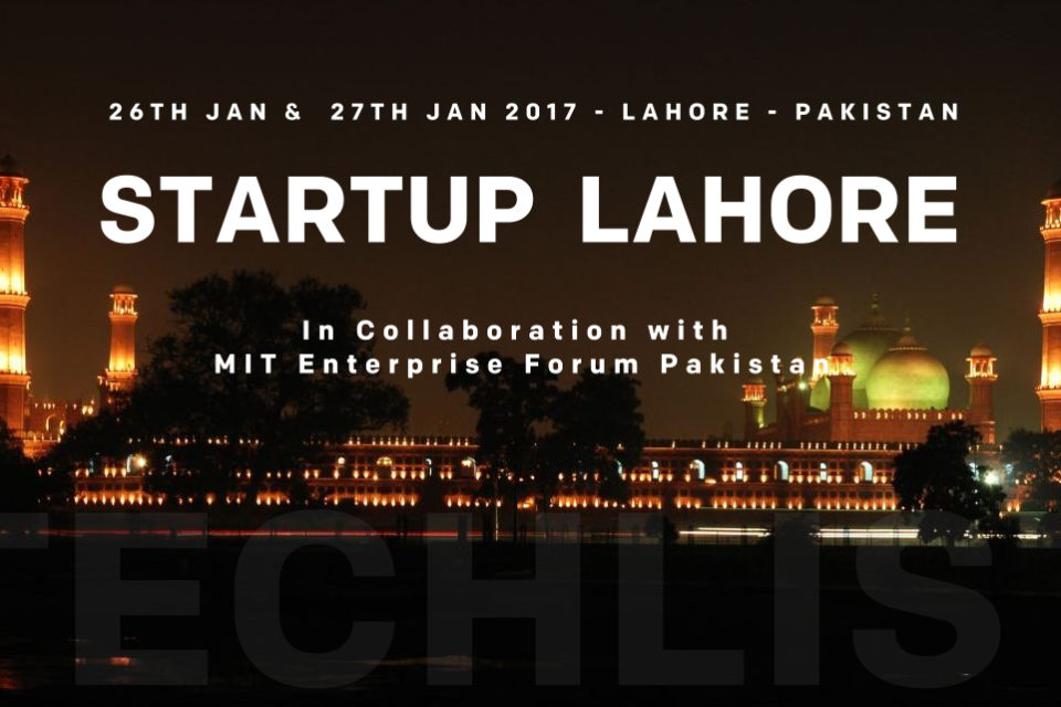 Startup lahore to be held on the 26th 27th january 2017 for Asma t salon lahore