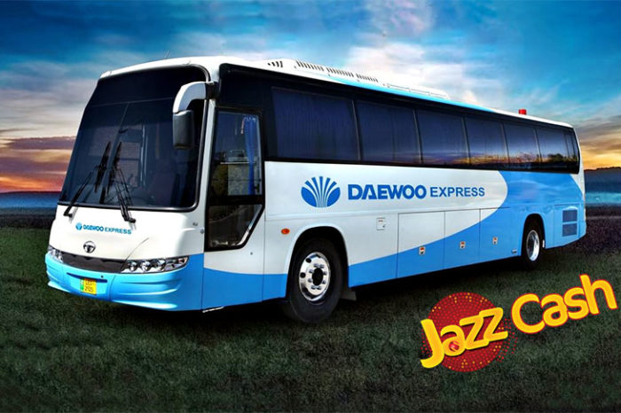 Buy Your Daewoo Express Bus Tickets Through JazzCash