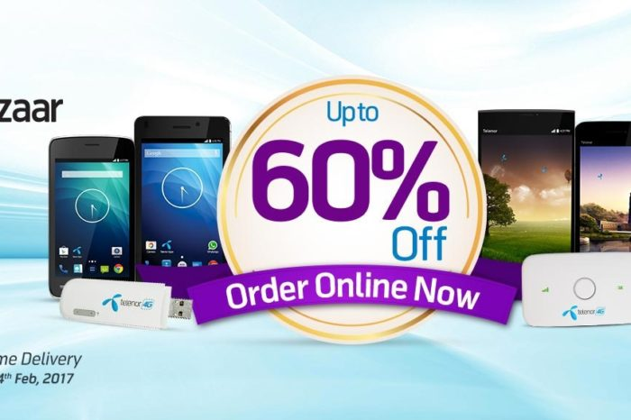 Telenor Big Bazaar offers big discount on Internet devices and Smartphones