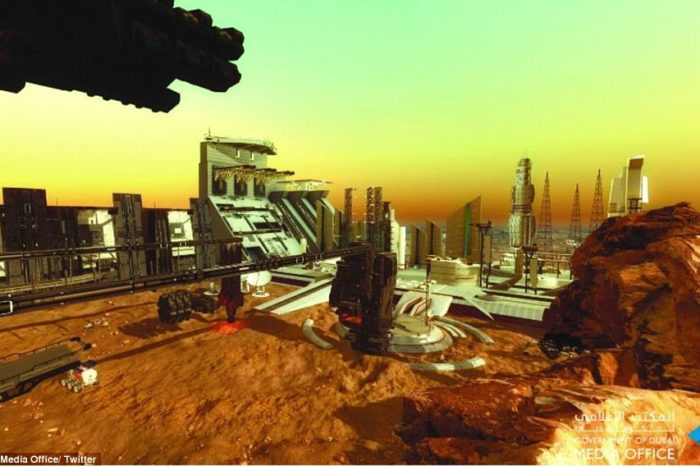 UAE announces to build first city on Mars by 2117