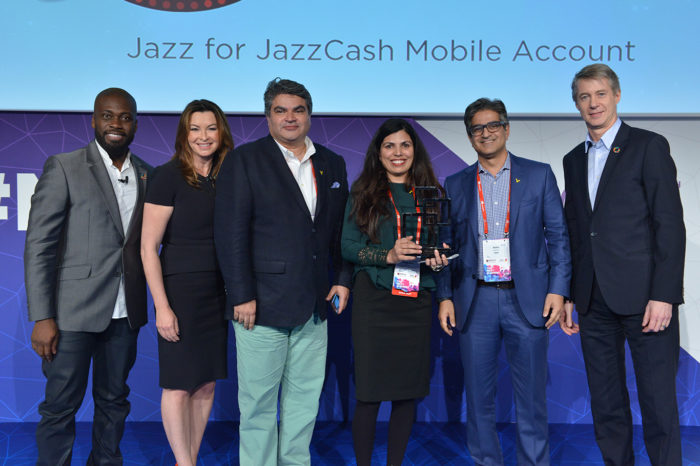 JazzCash Wins at GSMA GLOMO Awards 2017 in Best Mobile Product Category