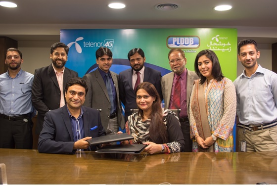 Telenor partners with PLDDB