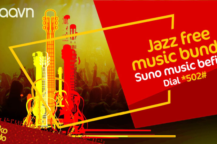 Jazz Partners with Saavn to Offer Free Music Streaming to Customers