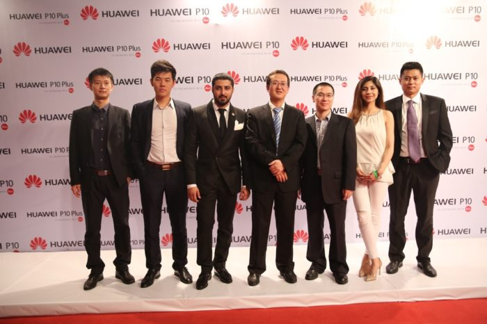 Huawei P10 and P10 Plus smartphone launch event held in Karachi