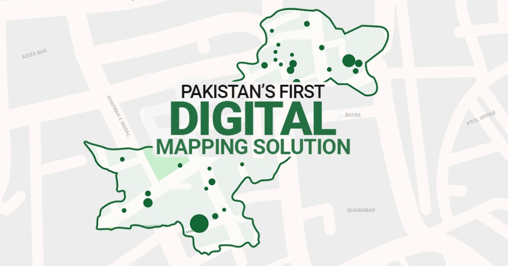 Pakistan's First Street Vision Map
