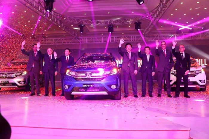 Honda officially launches 7 seater SUV, BR-V In Pakistan