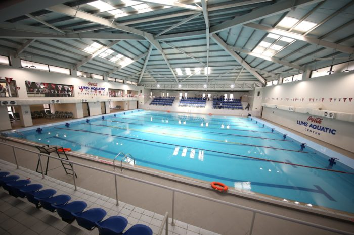 Pakistan's first ever state-of-the-art Aquatic Center open in LUMS
