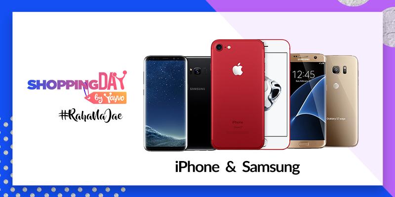 Samsung & iphone