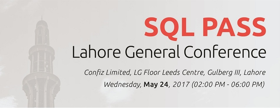 SQL PASS Lahore