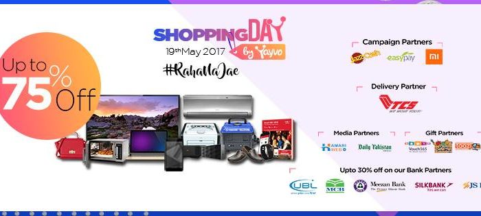 Get Ready to Experience Pakistan's First Ever Online Shopping Day-19th May