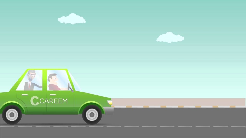 Ride hailing service Careem