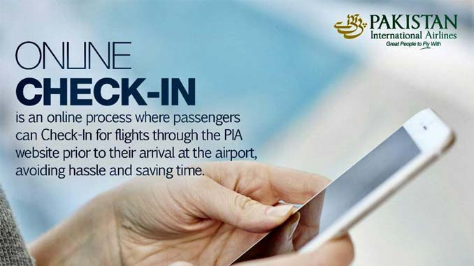 PIA Launches Online Booking Mobile App for Online Check-in