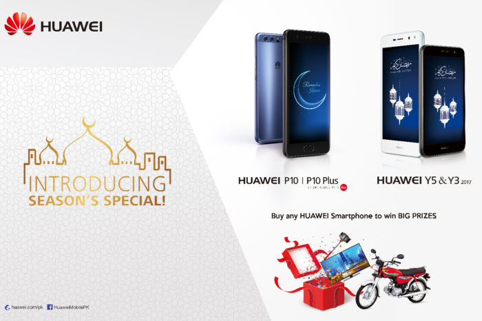 Buy any Huawei Smartphone on this Eid and Ramadan to Win Big Prizes