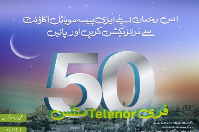 Telenor Easypaisa customers to get free minutes during Ramadan