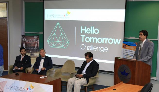 LUMS Center for Entrepreneurship Launches 'Hello Tomorrow Pakistan Challenge'