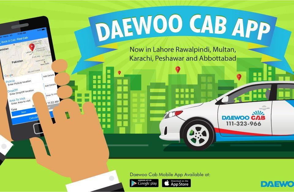 Daewoo Cab App