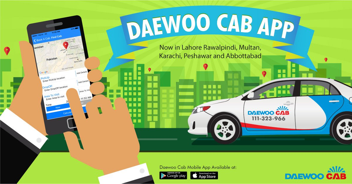 daewoo ride hailing app