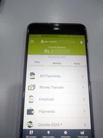 Easypaisa Credit Card