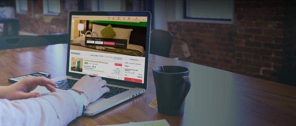 Online hotel bookings