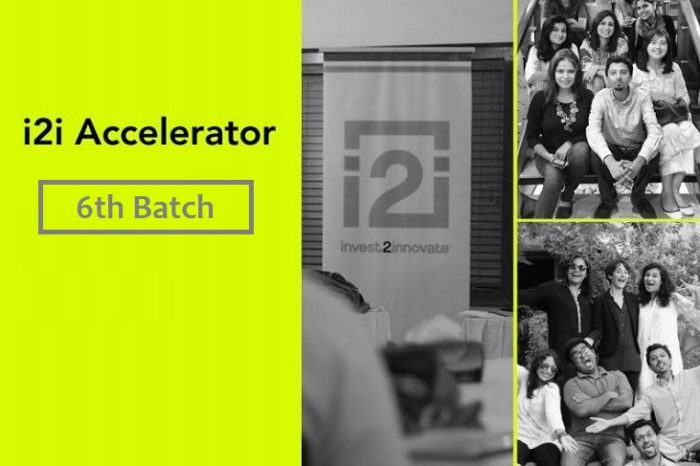 Startup Accelerator i2i has opened applications for 6th Batch