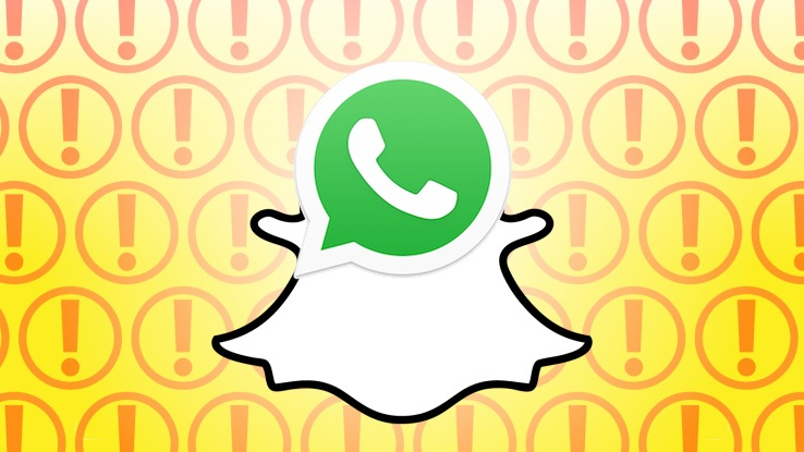WhatsApp beats Snapchat