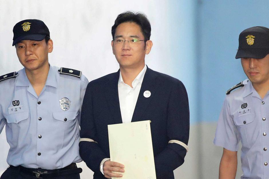 Samsung Vice Chairman Jailed