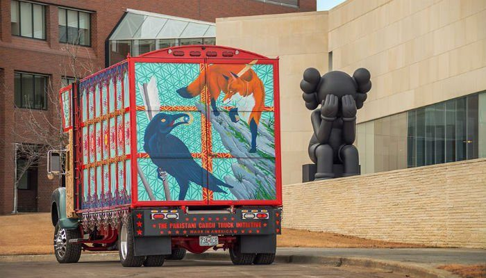 Pakistani Truck Art Being Presented In A US Museum
