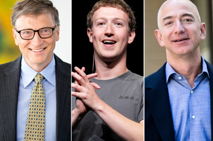 For the first time, World's richest tech billionaires' wealth surpasses $1 trillion