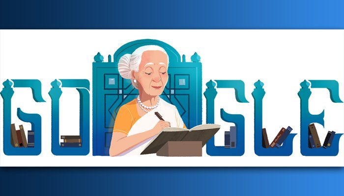 Google honors Fatima Surayya Bajia on 88th birthday with doodle