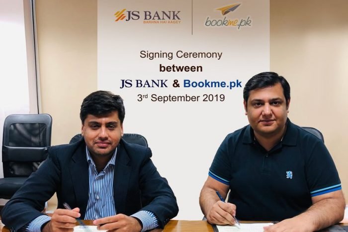 Online Ticketing Service Bookme Partners With JS Bank