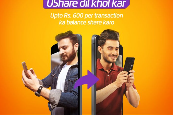 Ufone's UShare Service is Now Free of Cost to Share Balance During Lockdown
