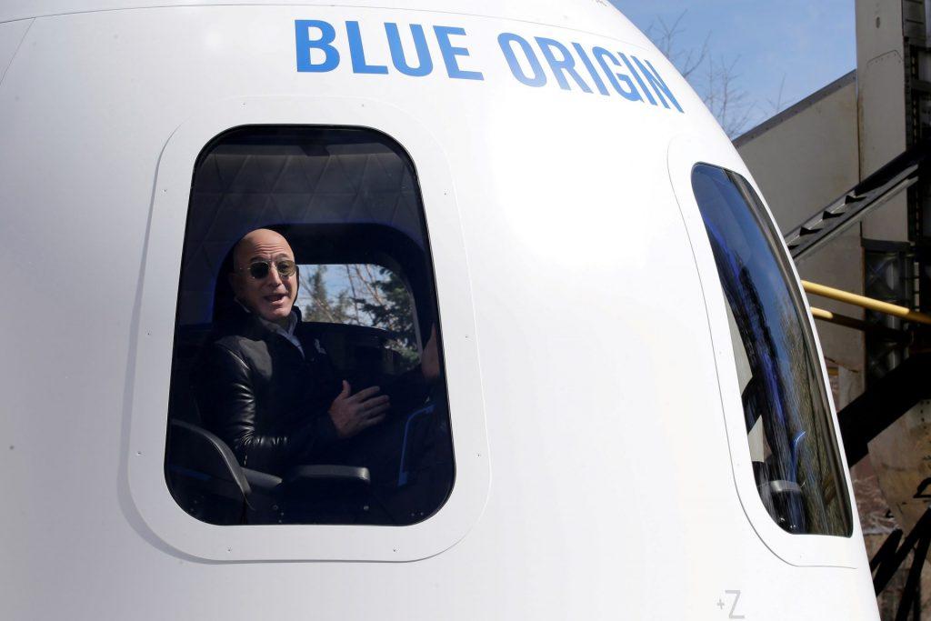 Jeff Bezos to Fly