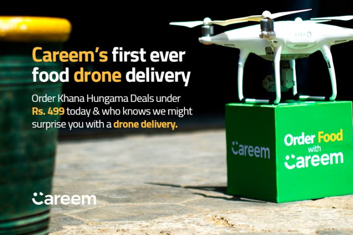 Careem 'Drone Delivery' is Bolt From Blue For Pakistanis