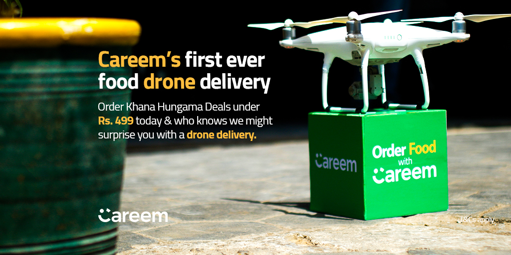 Careem 'Drone Delivery'