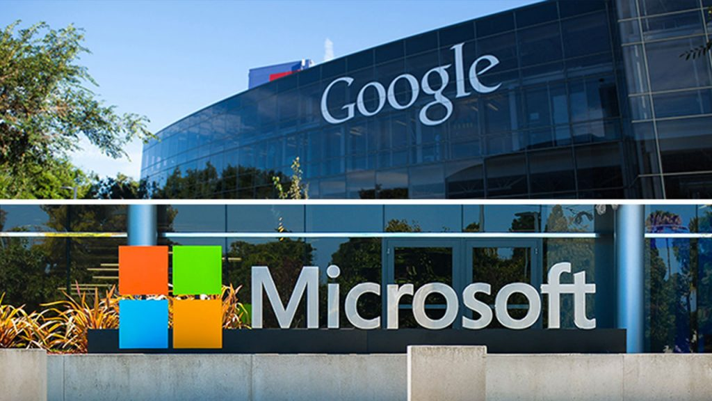 Microsoft and Google End Six-Year Truce